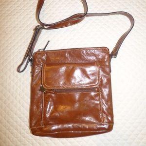 Giani Bernini Florentine Glazed Leather Hobo